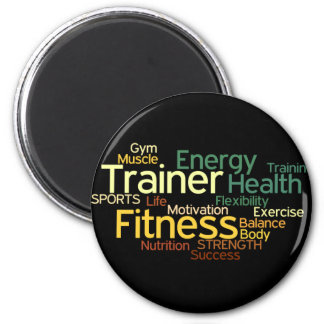 Personal Trainer or Fitness Center Magnet