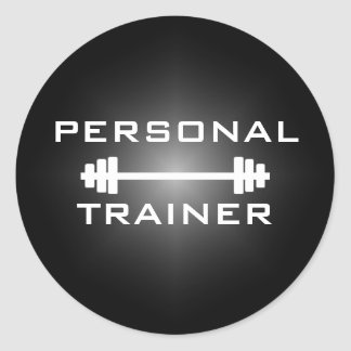 Personal Trainer or Fitness Center Sticker