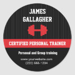 Personal Trainer Promotional Sticker