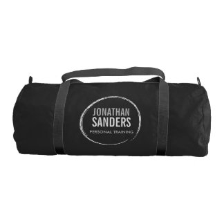 PERSONAL TRAINER SKETCH LOGO GYM BAG