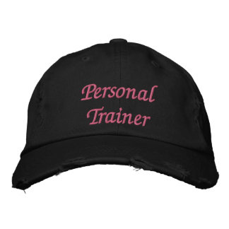 Personal Trainer Women's Baseball Cap