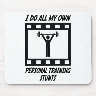 Personal Training Stunts Mouse Mat