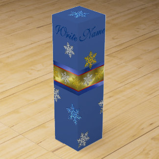 PERSONAL WINE GIFT BOX  ELEGANT CHRISTMAS GIFT BOX