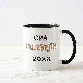 Personalisable Special CPA Accountant Celebration Mug