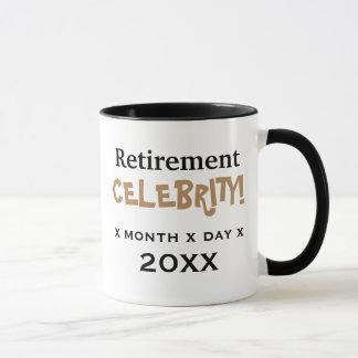 Personalisable Special Retirement Celebration Mug