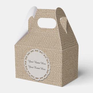 Personalise Gable Favor Box