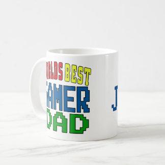 Personalise. Worlds Best Gamer Dad Mug. Coffee Mug