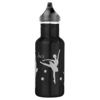 Personalised Ballerina Water Bottle | Recital Gift