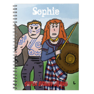 Personalised 'Celts' history notebook