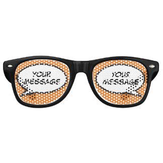 Personalised Comic Book Pop Art Speech Bubble Retro Sunglasses