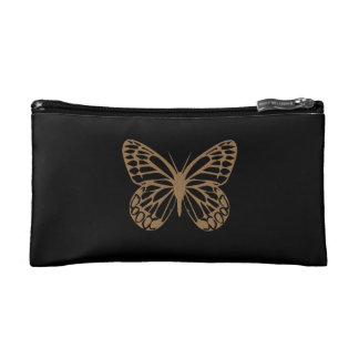 Personalised Cute Giant Butterfly Black Bag