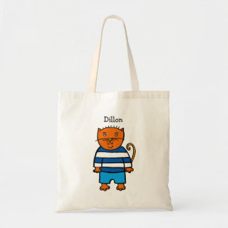 Personalised Dillon the Cat Tote Bag