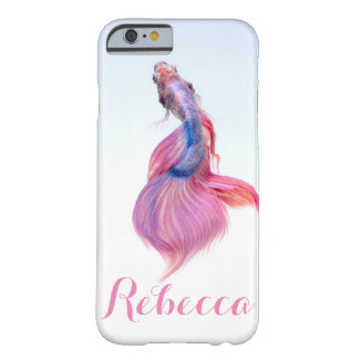 Personalised Fish Barely There iPhone 6 Case