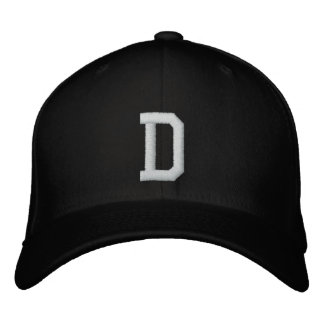 PERSONALISED Flex Fit D LOGO Embroidered Hat