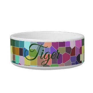 Personalised Flower Mosaic Bowl