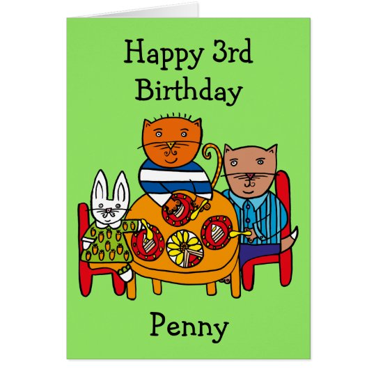 Personalised Friends Party Card