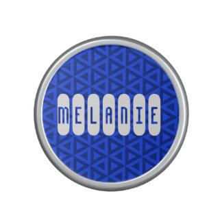 Personalised Geometric Compact Mirror Bluetooth Speaker
