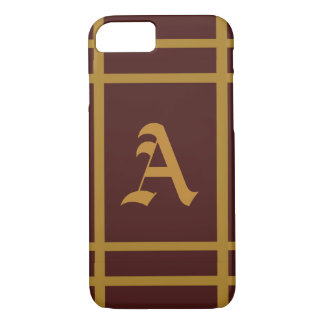 Personalised Golden Wine iPhone 8/7 Case