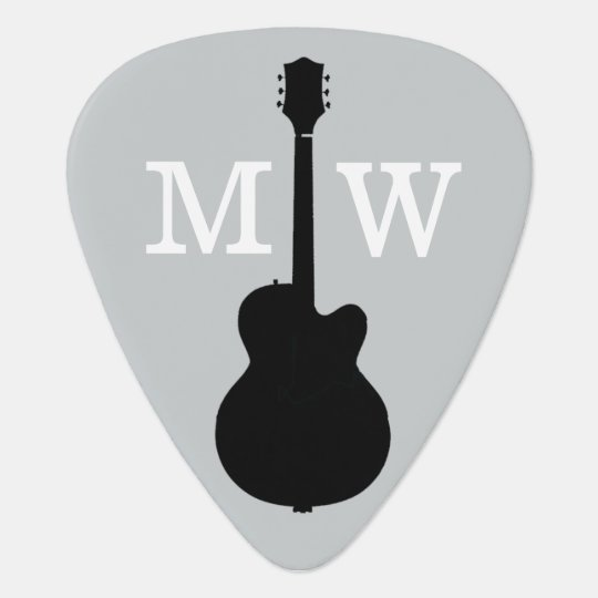 personalised guitar picks for the guitarist pick