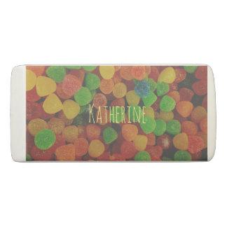 Personalised Gumdrops Eraser