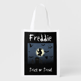 Personalised Halloween Treat or Trick bag