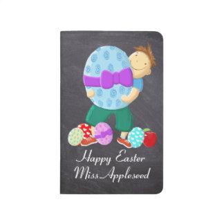 Personalised Happy Easter Teacher Journals