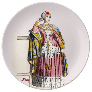 Personalised KIM ~A Lady of Rank~ Edward 3rd ~ Plate