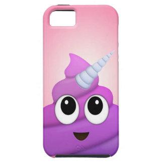 Personalised Magical Unicorn Poop Emoji iPhone 5 Covers