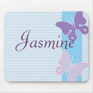 Personalised Name Mouse Pad - Butterflies