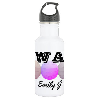 Personalised Netball Positions Ball Design 532 Ml Water Bottle
