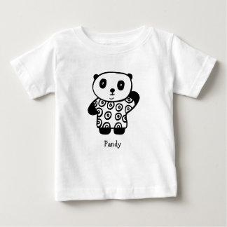 Personalised Pandy the Panda Baby T-Shirt