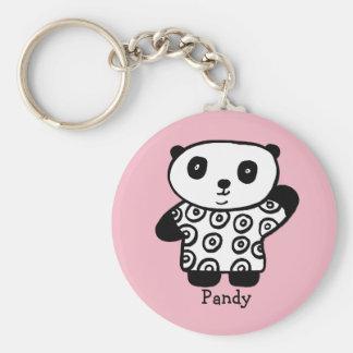 Personalised Pandy the Panda Keychain