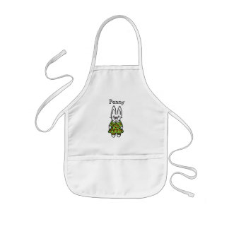 Personalised Penny the Rabbit Kids Apron