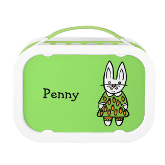 Personalised Penny the Rabbit Lunch Box