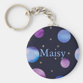 Personalised Planets Keychain