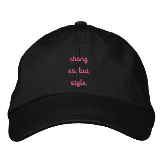Personalised regulable cap baseball cap