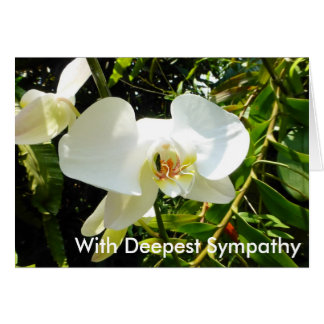 Personalised Sympathy Card Printable Your Message