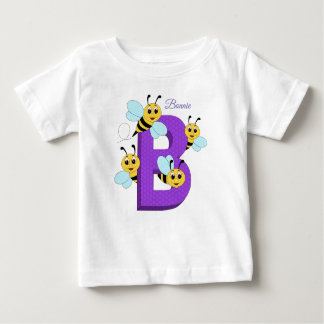 Personalised t-shirt - B for Bees