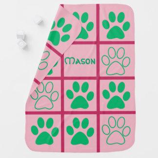 Personalised Tic-Tac-Toe Pop Design Baby Blanket