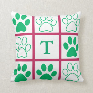 Personalised Tic-Tac-Toe Pop Design Throw Pillow