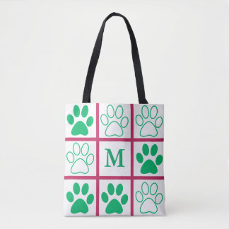 Personalised Tic-Tac-Toe Pop Design Tote Bag