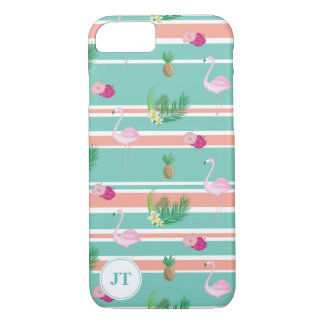 Personalised Tropical Apple iPhone Smartphone Case