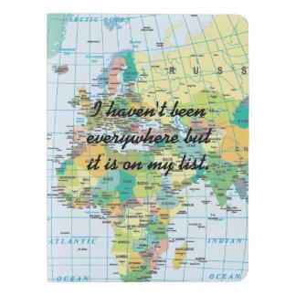 Personalised Vintage Map Extra Large Moleskine Notebook