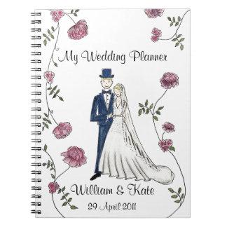 Personalised Wedding Planner Notebook
