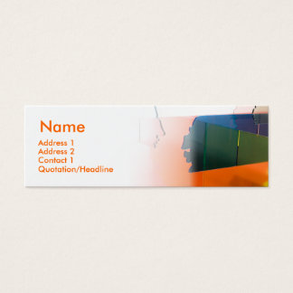 PERSONALITY MINI BUSINESS CARD