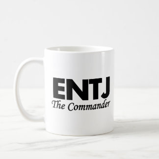 Personality Type ENTJ | The Commander Coffee Mug
