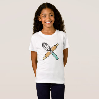 Personalizable Children's Baking T-Shirt