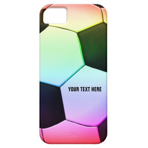 Personalizable colorful Soccer | Football Case For iPhone 5/5S