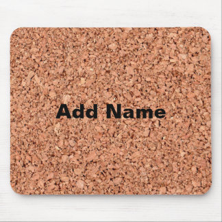 Personalizable Cork Board Mouse Pad