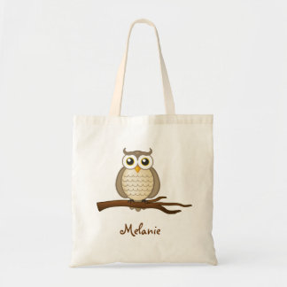 Personalizable Cute Wise Owl | Bag